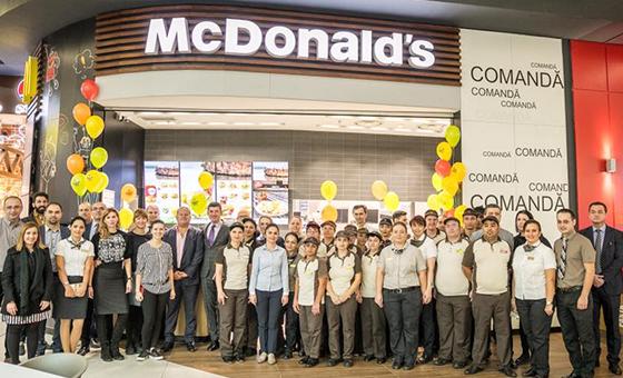 70. éttermét nyitja a McDonald's Romániában