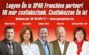 A franchise a SPAR válasza az adóemelésére