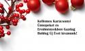 Békés Boldog Karácsonyt Kíván a Franchiseportal.HU csapata!