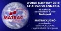 World Sleep Day 2015 (Alvás Világnapja)