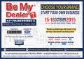 Október 12 és 15 között tartják az isztambuli 'Be My Dealer Franchise Expo' kiállítást és vásárt