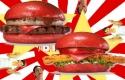 Fekete után piros hamburgerre vált a Burger King