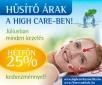 Hűsítő árak a High Care szalonokban