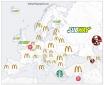 A legnépszerűbb gyorséttermek Európa országaiban