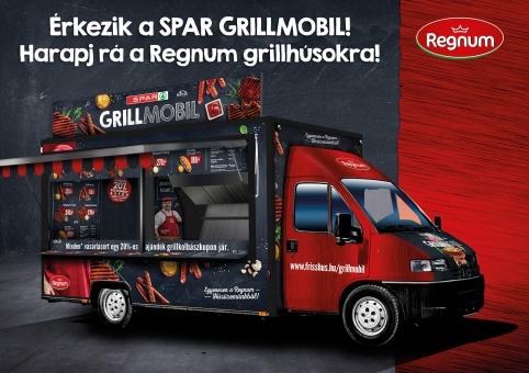 Országjáró körútra indult a SPAR Grillmobil