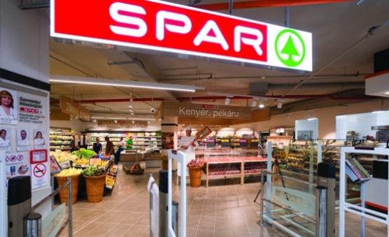 A Mammut-ban üzemelő SPAR szupermarket nyerte el idén az Év Boltja címet