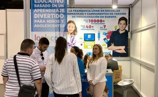 A Logiscool is bemutatkozik a valenciai franchise kiállításon