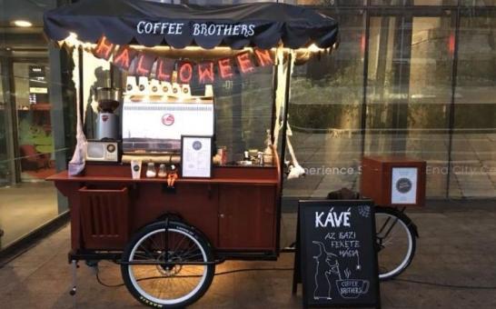 Mobil kávézó koncepció terjeszkedik hazánkban