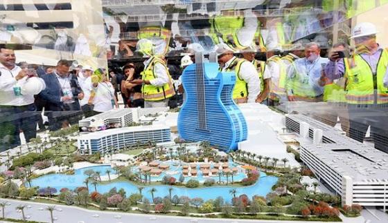 Másfél milliárd dolláros Hard Rock Hotel nyílik Floridában