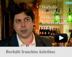 Borháló Kelenföld borkereskedés bemutatója az Újbuda TV Helyi érték című műsorában